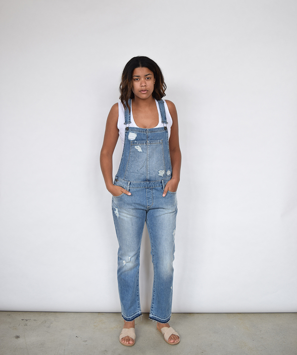 Articles of Society Woodstock Boyfriend Overalls