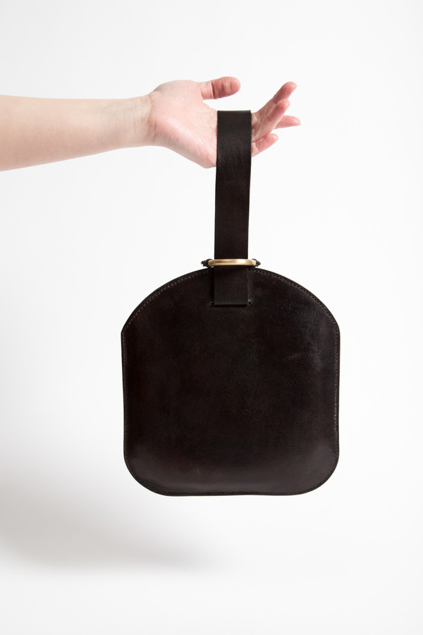 Bartleby Objects Leather Jeanette Clutch