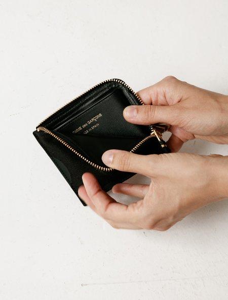 Comme des Garçons Rubber Dot 3/4 Zip Wallet