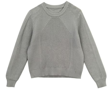 L.F.Markey Julian Knit - Steel Blue