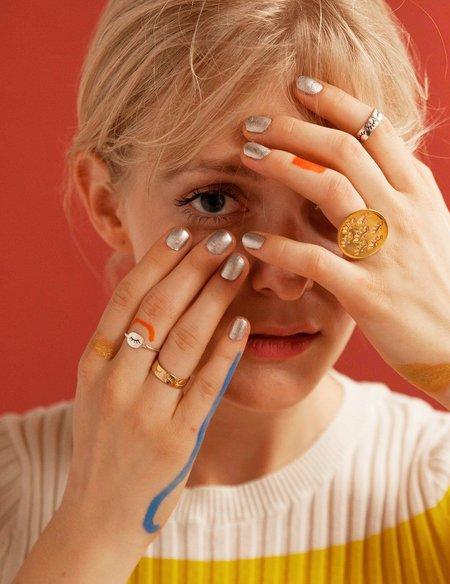 Nina.Nanas Miya ring I - Sterling Silver