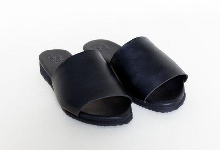 Good Guys Don't Wear Leather The Bob Sandal - black