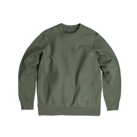 Robertson's Co. Standard Issue Crewneck - Olive