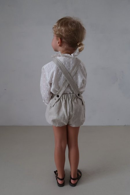 Kids House of Paloma Anais Playsuit - Stone