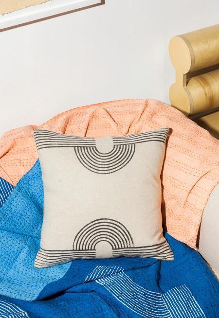 Block Shop Textile Linen Pillow