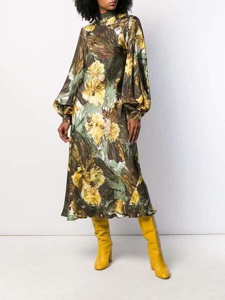 ERIKA CAVALLINI Printed Turtleneck Dress - Urban Chic