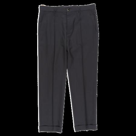Marni Tropical Wool Pants - Navy Blue