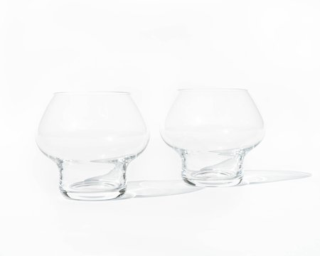 Architect Made Jørn Utzon 'Spring' Glass (Pair)