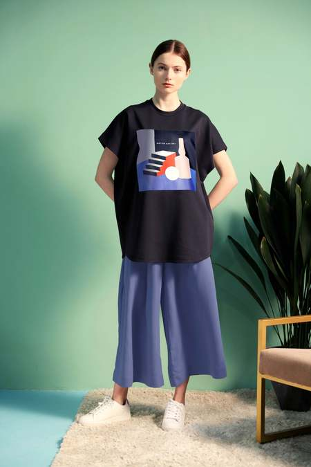 UNISEX Matter Matters Graphic Huge T-Shirt - Black