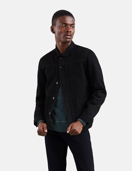 Levi's Levis Made & Crafted Type II Worn Trucker Jacket - Black