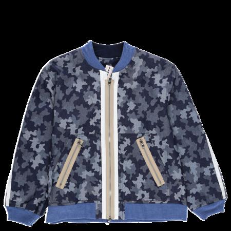 Ermanno Gallamini Giubbotto Zip Nylon Jacket - Camo