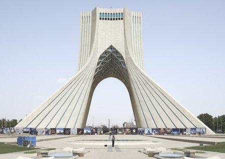 Zico O'Neill Azadi Tower, Tehran, Iran 2015