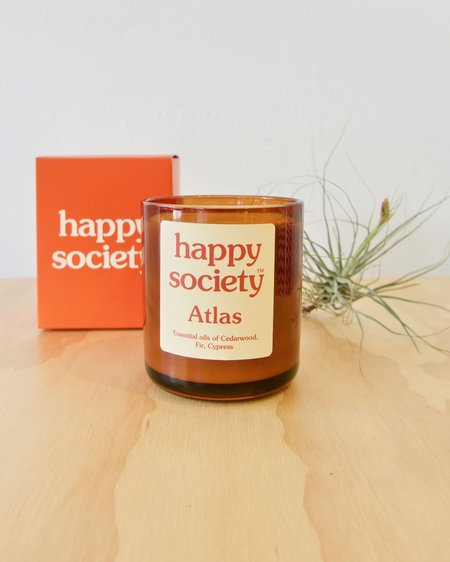 Happy Society Atlas Candle - Large