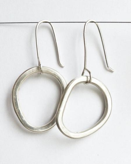 Argent Silversmith Mini Chunky Hoops - Sterling Silver