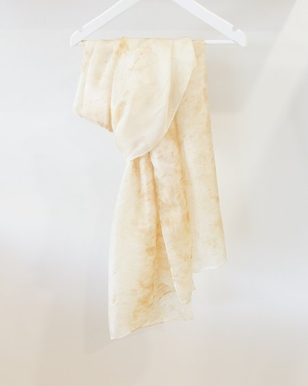 HunterMade Plant Dyed Silk Scarf - Large
