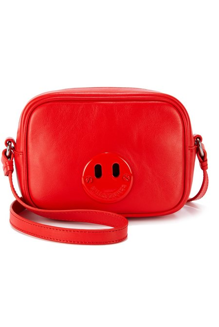 Hill & Friends Happy Mini Camera Bag - Red