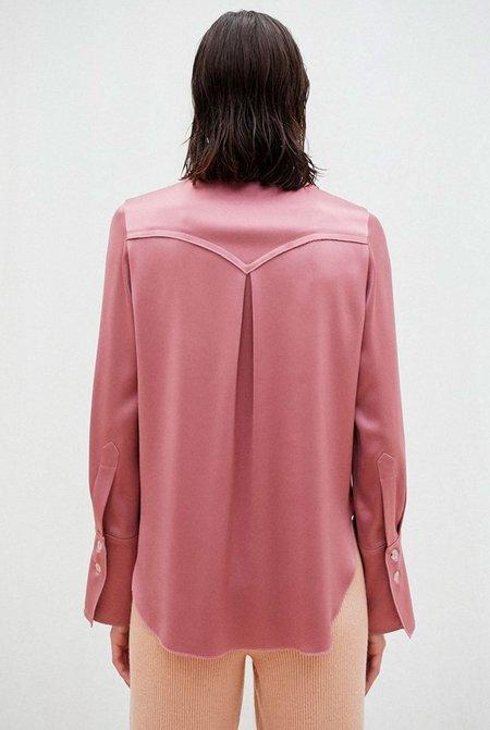 Nanushka Mandine Retro Shirt - Rose