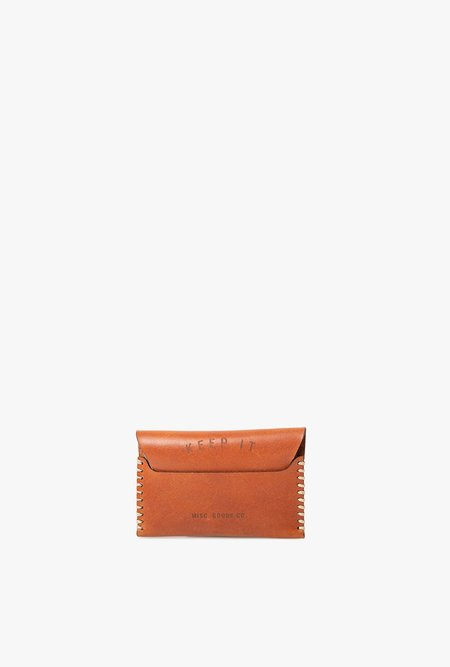 MISC. GOODS CO. Leather Wallet