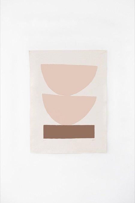 Upton Paloma Canvas Print - Peach