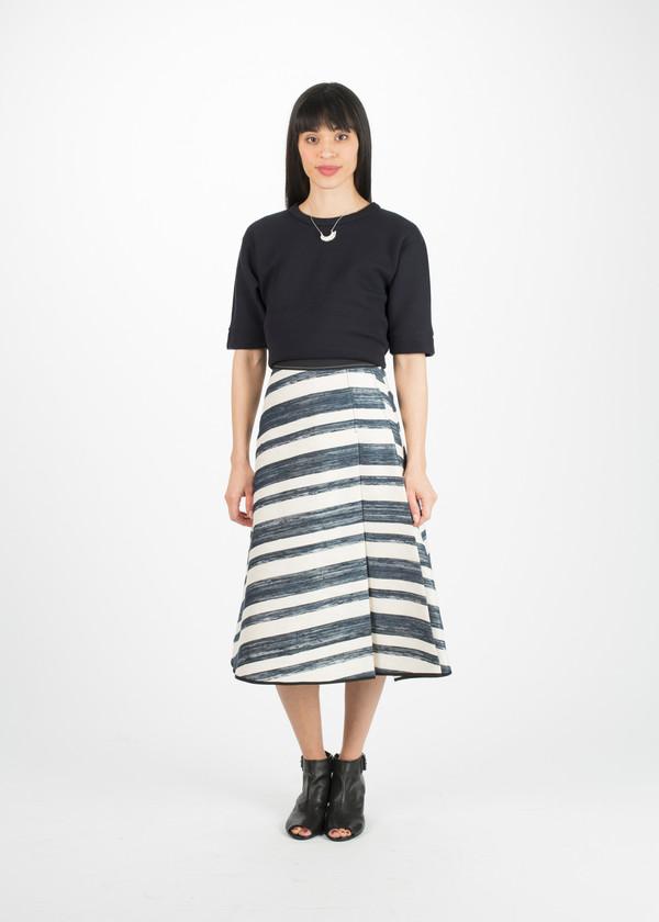 Odeeh Double Pleat Skirt