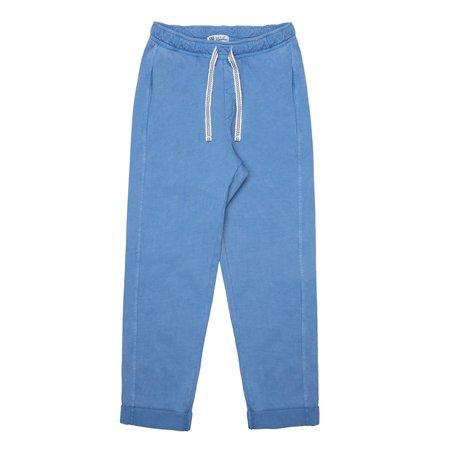 kids barn of monkeys front seams pants - blue oil