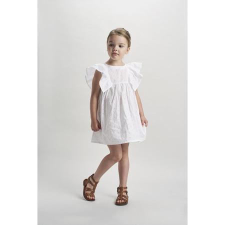 kids belle enfant angel dress - broderie anglaise white