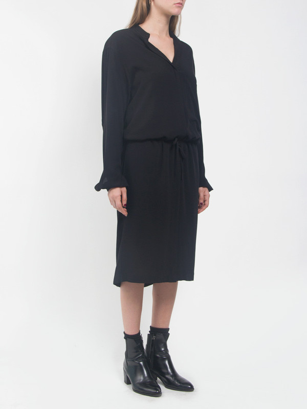 Assembly Black Shirtdress