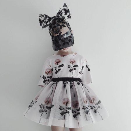 Kids Caroline Bosmans Furbo Skirt  - Pollen/Rose