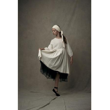 kids little creative factory ballet dress - ivory