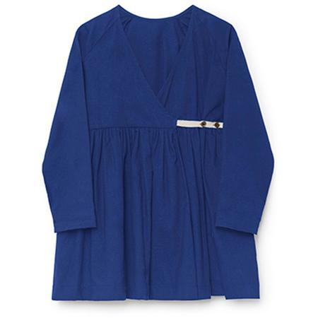 Kids Little Creative Factory Horizon Wrap Blouse - Blue