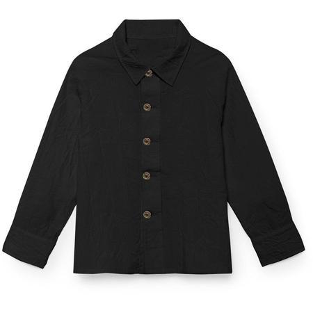 Kids Little Creative Factory Mateo's Buttoned Down Shirt - Black