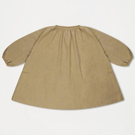 KIDS Repose AMS Tent Dress - Soft Greyish Yellow