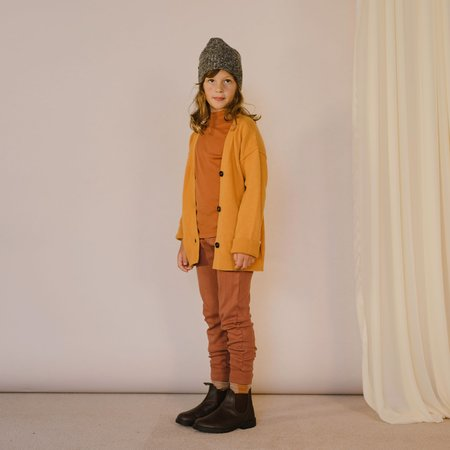 Kids Repose AMS Turtleneck Top - Warm Hazel