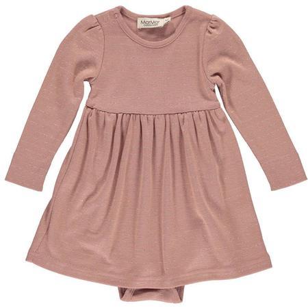 Kids Marmar Copenhagen Ramona Baby Dress - Morning Rose