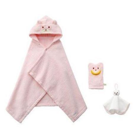 Kids Miki House Bath Time Gift Set - Pink