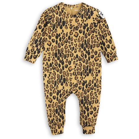 Kids Mini Rodini Basic Leopard Jumpsuit