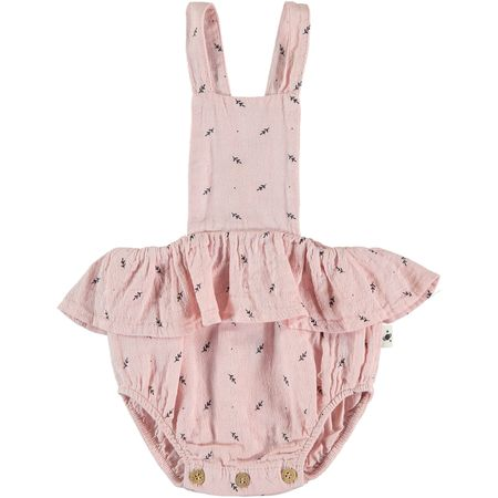 KIDS my little cozmo botanic jumpsuit - soft pink