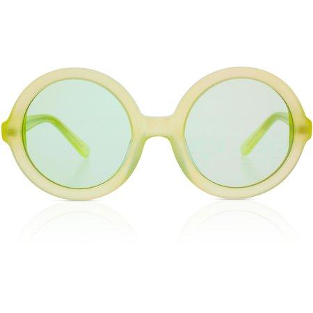 Kids Sons + Daughters Lenny Sunglasses - Margarita Green