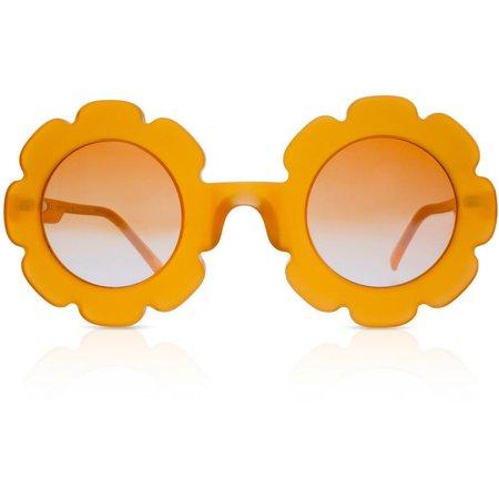 Kids Sons + Daughters Pixie Sunglasses - Blood Orange