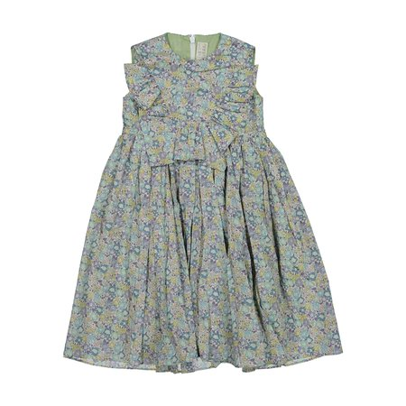 kids tia cibani montgomery maxi dress - elizabeth floral liberty print
