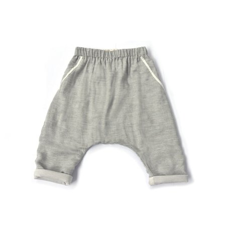 Kids Unisex Treehouse Lire Trousers - Light Grey