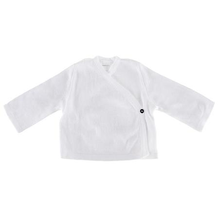 KIDS Pequeno Tocon Baby Kimono Close Jacket - White