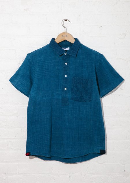Indi Cedar Pullover - Solid Indigo