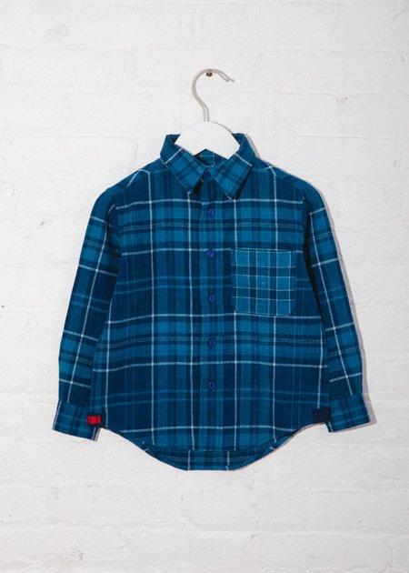 Kids Indi-Kids Matty Shirt - Hand Woven Plaids