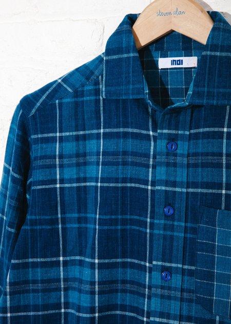 Unisex INDI Matty Shirt - Handwoven plaid