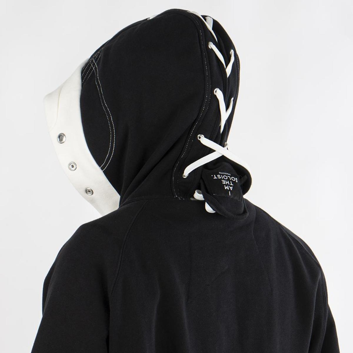 23ea33e4d Converse x The Soloist Full Zip Hoodie - Black