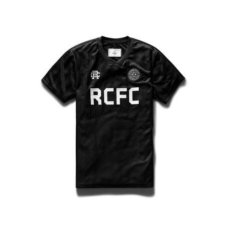 Reigning Champ Striped RCFC Short Sleeve - Black