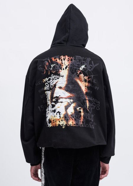"Doublet ""Surprise"" Embroidery Hoodie - Black"