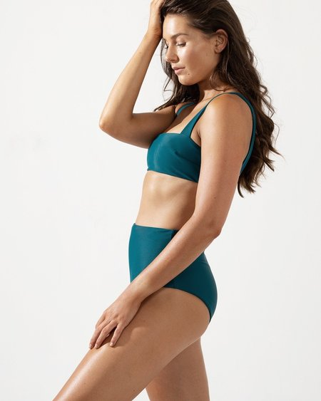 Coco + Shy Frankie Pant - Turquoise