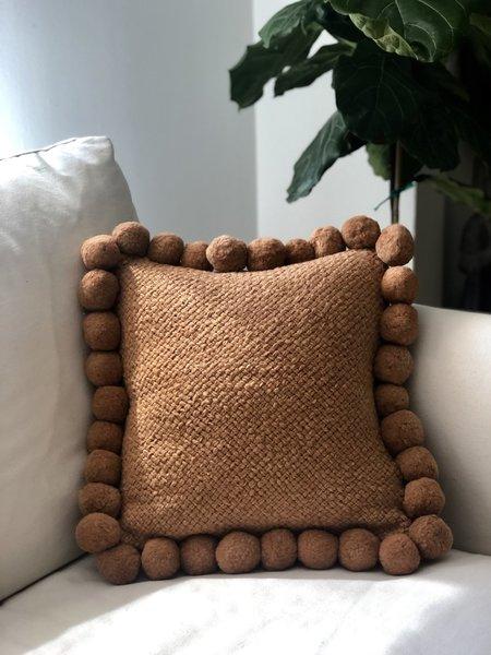 Puawai Pom Pom Cushion #1